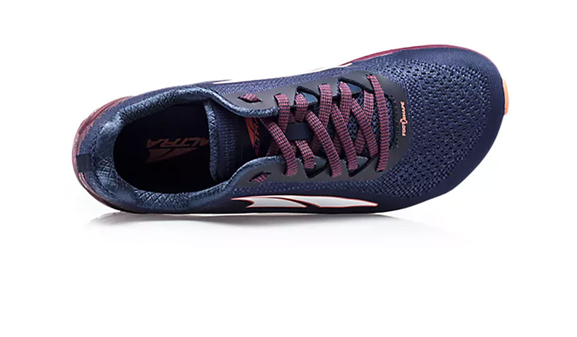 Women's Altra Torin 4 Plush Running Shoe - Color: Navy/Plum (Regular Width) - Size: 6.5, Navy/Purple, large, image 3