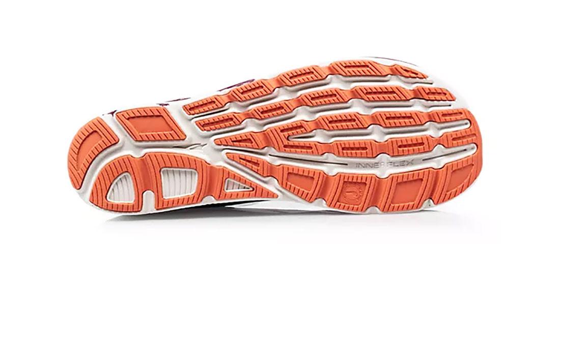 Women's Altra Torin 4 Plush Running Shoe - Color: Navy/Plum (Regular Width) - Size: 6.5, Navy/Purple, large, image 4
