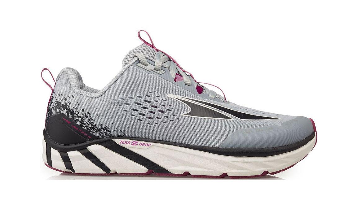 Women's Altra Torin 4 Running Shoe - Color: Grey/Purple (Regular Width) - Size: 5.5, Grey/Purple, large, image 1