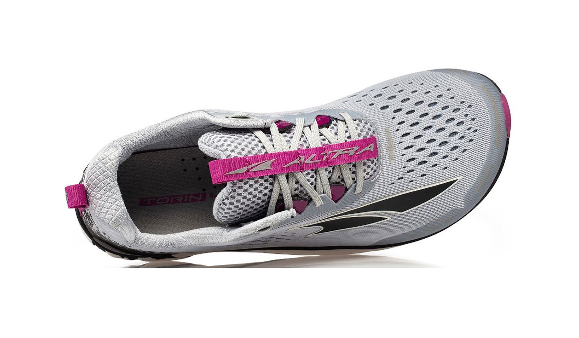 Women's Altra Torin 4 Running Shoe - Color: Grey/Purple (Regular Width) - Size: 5.5, Grey/Purple, large, image 3