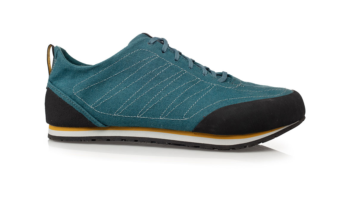 Women's Altra Wahweap Trail Running Shoe - Color: Teal/Yellow (Regular Width) - Size: 5.5, Teal/Yellow, large, image 1