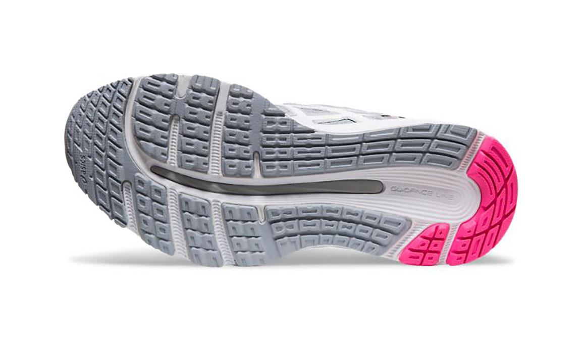 Women's Asics GEL-Cumulus 21 Running Shoe - Color: Piedmont Grey/White (Regular Width) - Size: 5.5, Grey/White, large, image 3
