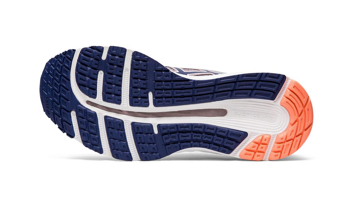 Women's Asics GEL-Cumulus 21 Running Shoe - Color: Violet Blush/Dive Blue (Regular Width) - Size: 5.5, Violet, large, image 3