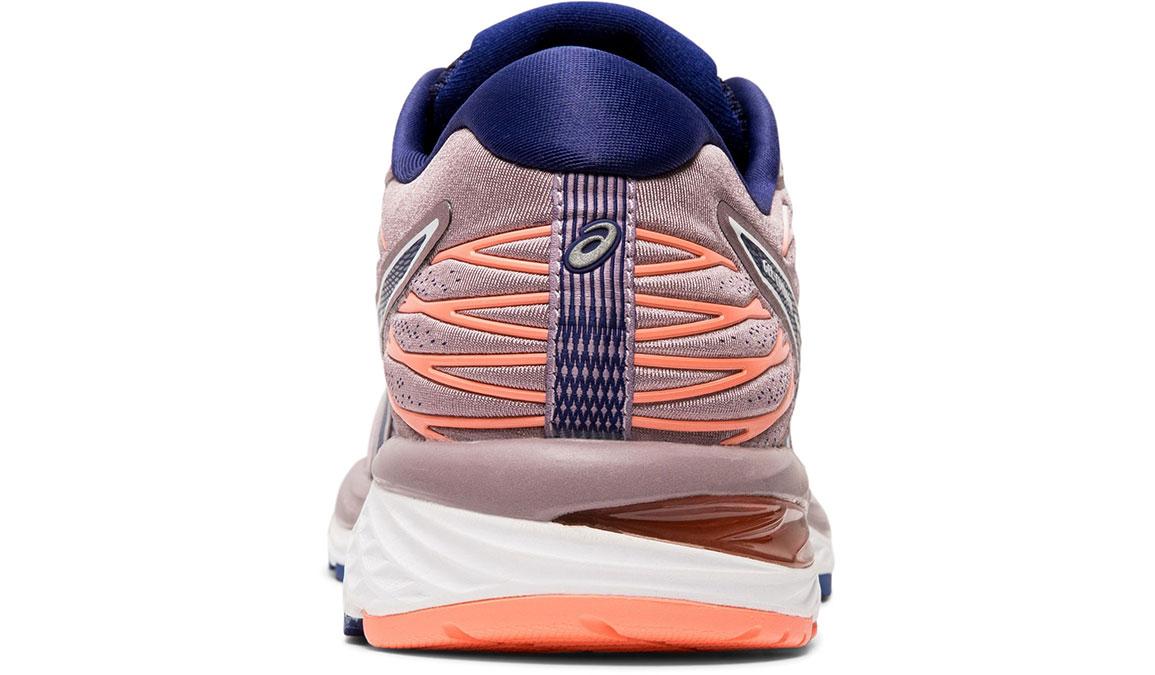 Women's Asics GEL-Cumulus 21 Running Shoe - Color: Violet Blush/Dive Blue (Regular Width) - Size: 5.5, Violet, large, image 4