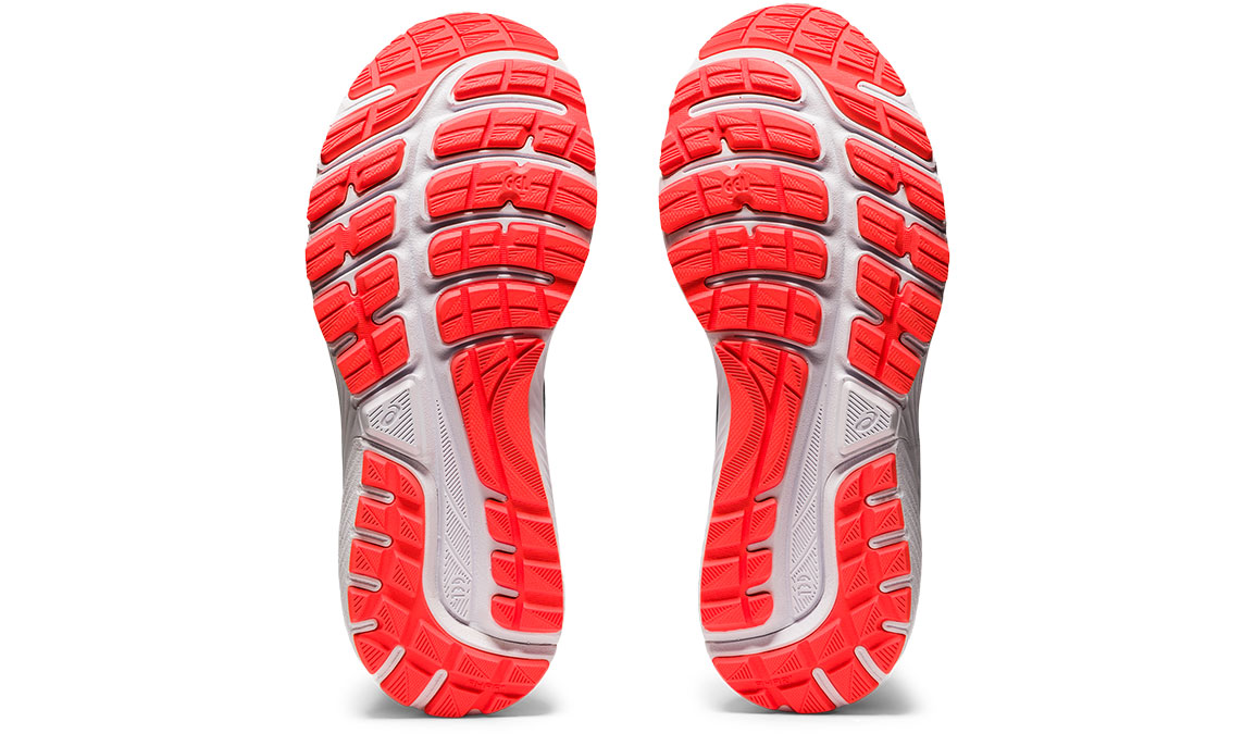 Women's Asics GEL-Cumulus 22 Running Shoe - Color: Piedmont Grey/Light Steel (Regular Width) - Size: 6, Grey/Blue, large, image 5