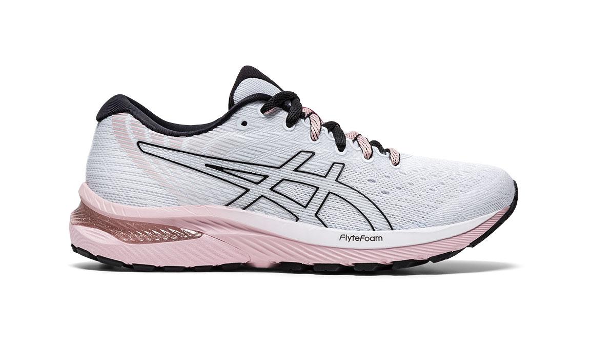Women's Asics GEL-Cumulus 22 Running Shoe - Color: White/Ginger (Regular Width) - Size: 6, White/Pink, large, image 1