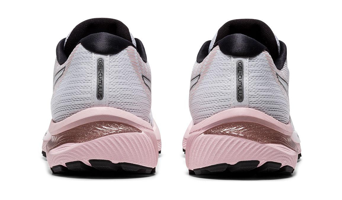Women's Asics GEL-Cumulus 22 Running Shoe - Color: White/Ginger (Regular Width) - Size: 6, White/Pink, large, image 4