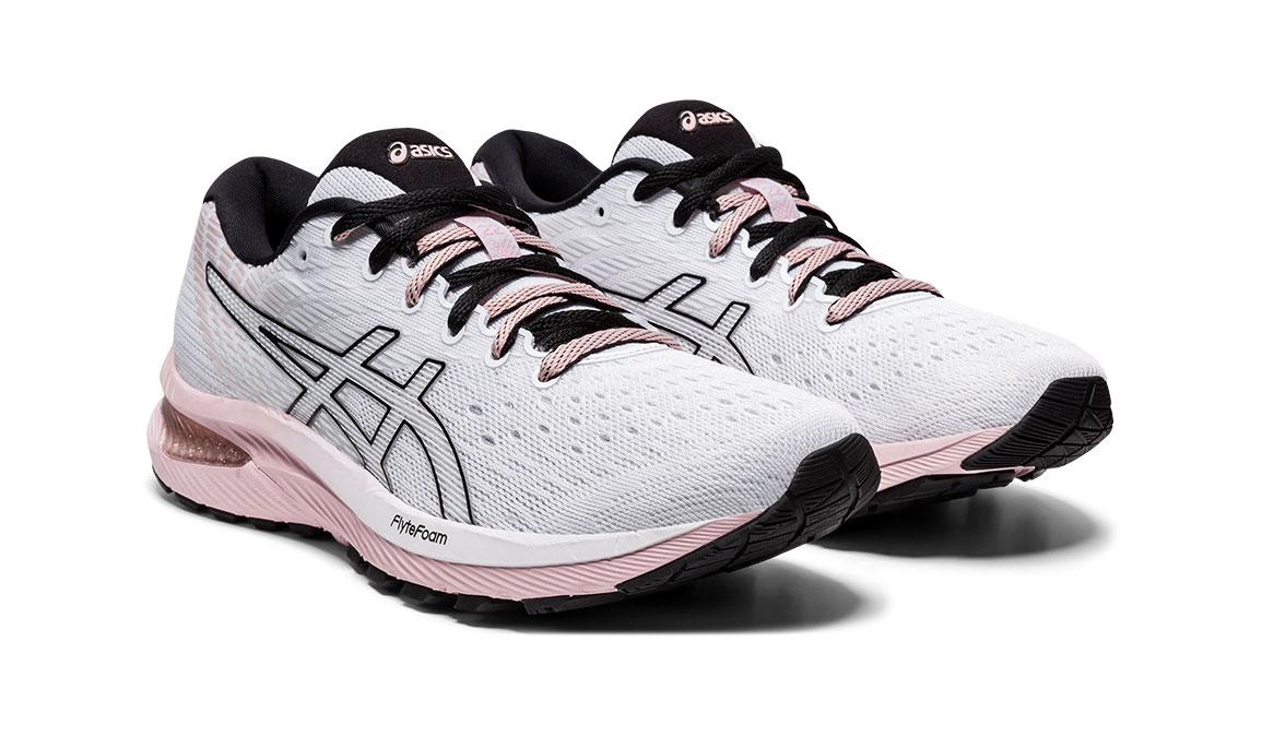 Women's Asics GEL-Cumulus 22 Running Shoe - Color: White/Ginger (Regular Width) - Size: 6, White/Pink, large, image 2