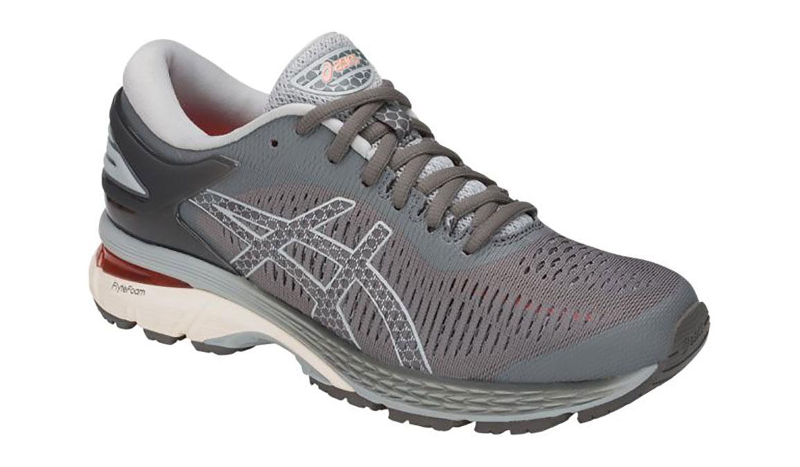 Women's Asics GEL-Kayano 25 Running Shoe - Color: Carbon Grey (Regular Width) - Size: 7.5, Carbon, large, image 2