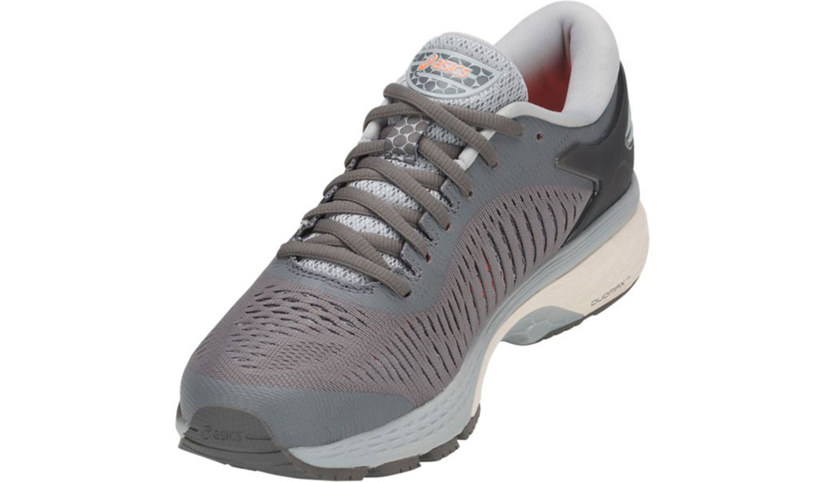 Women's Asics GEL-Kayano 25 Running Shoe - Color: Carbon Grey (Regular Width) - Size: 7.5, Carbon, large, image 4