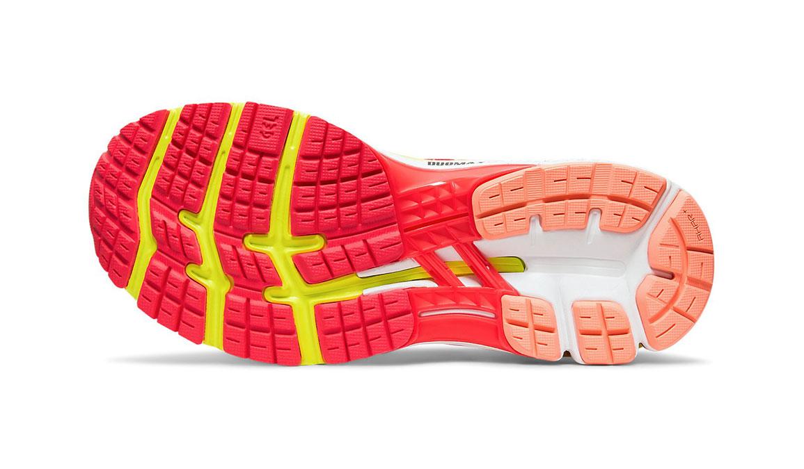 Women's Asics GEL-Kayano 26 Arise Running Shoe - Color: Laser Pink/Sour Yuzu (Regular Width) - Size: 7.5, Pink/Yellow, large, image 3
