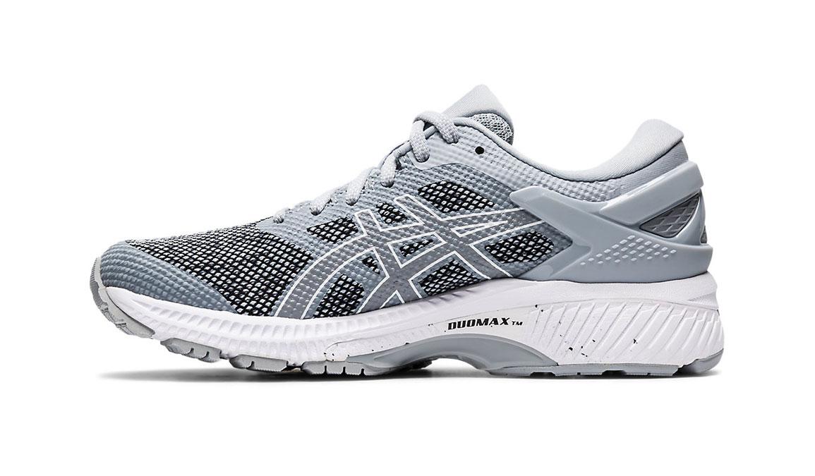 Women's Asics Gel-Kayano 26 Mx Running Shoe - Color: Piedmont Grey/Sheet Rock (Regular Width) - Size: 6.5, Grey/Black, large, image 2