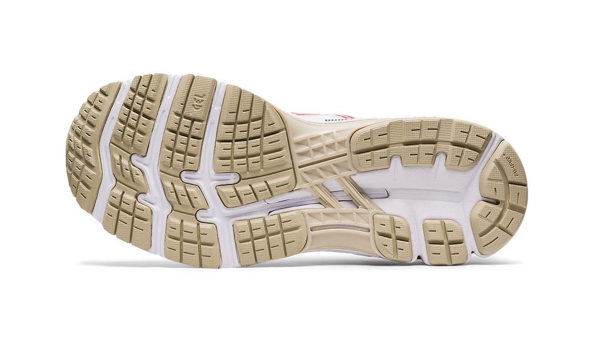 Women's Asics GEL-Kayano 26 Retro Tokyo Running Shoe - Color: White/Red (Regular Width) - Size: 7, White/Red, large, image 3