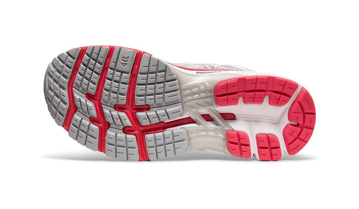 Women's Asics GEL-Kayano 26 Running Shoe - Color: Piedmont Grey/Silver (Regular Width) - Size: 8.5, Grey/Red, large, image 3