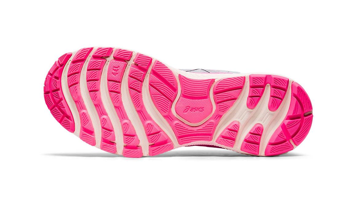 Women's Asics GEL-Nimbus Lite Running Shoe - Color: Piedmont Grey/Pink (Regular Width) - Size: 9.5, Grey/Pink, large, image 3