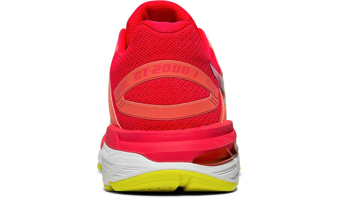 Women's Asics GT-2000 7 Arise Running Shoe - Color: White/Laser Pink (Regular Width) - Size: 7, White/Pink, large, image 4