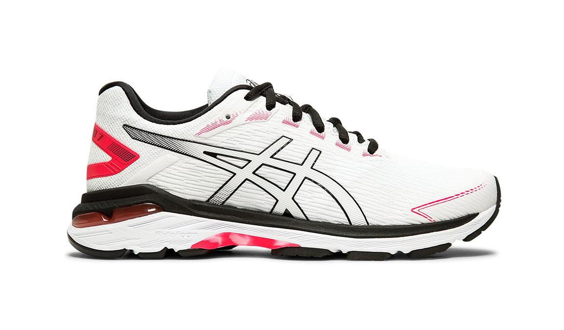 Women's Asics GT-2000 7 Twist Running Shoe - Color: White/White (Regular Width) - Size: 5, White/White, large, image 1