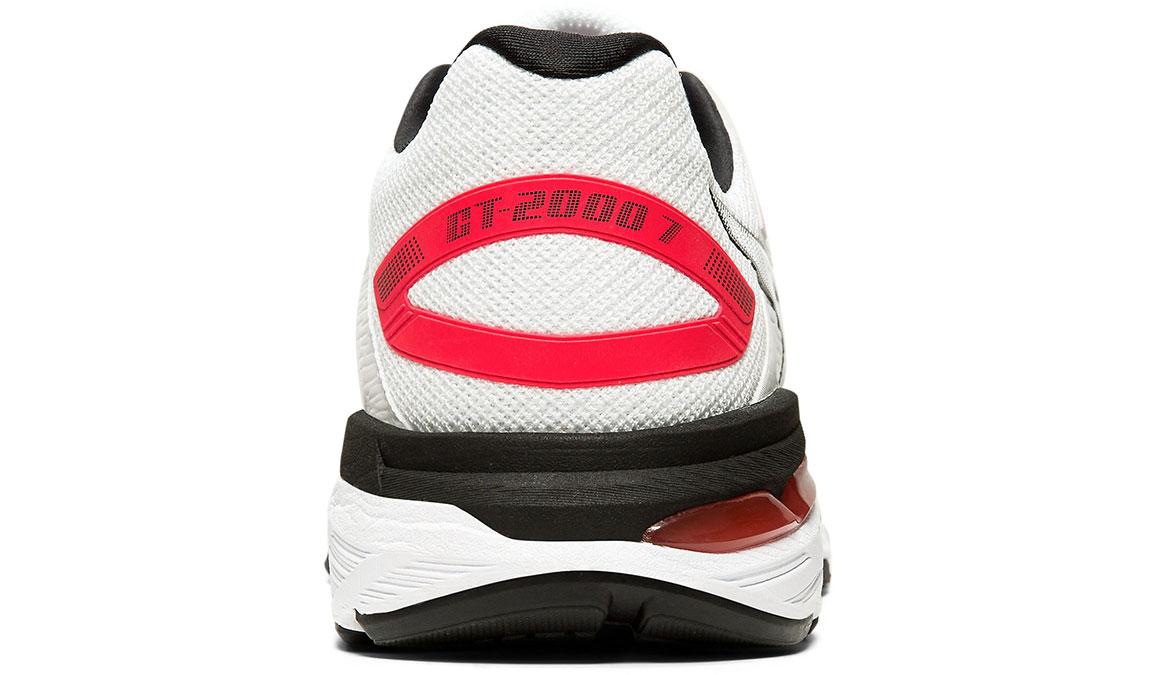 Women's Asics GT-2000 7 Twist Running Shoe - Color: White/White (Regular Width) - Size: 5, White/White, large, image 4