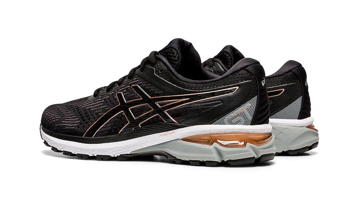 Women's Asics GT-2000 8 Running Shoe - Color: Black/Rose Gold (Regular Width) - Size: 5, Black/Rose Gold, large, image 5