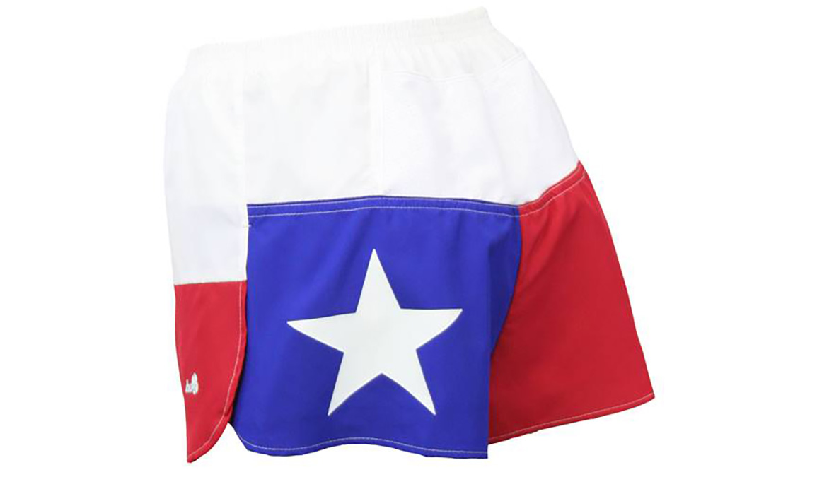 Women's Texas Flag Ultra Split Short - Color: Texas Flag - Size: XS, Multi, large, image 1