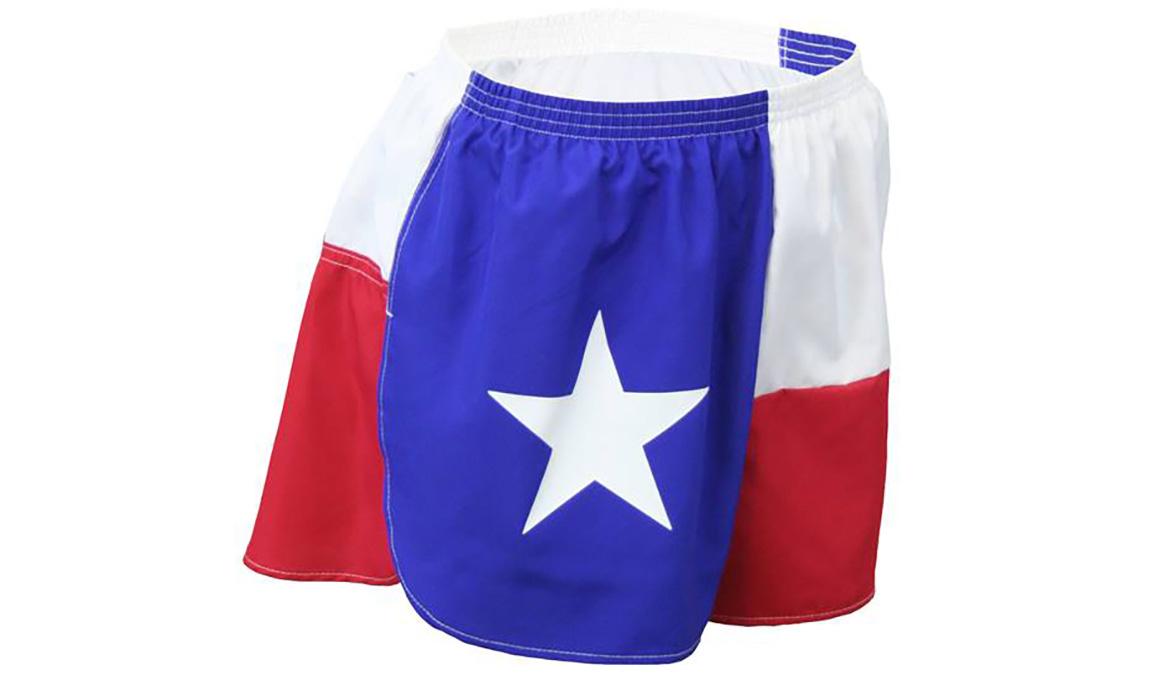 Women's Texas Flag Ultra Split Short - Color: Texas Flag - Size: XS, Multi, large, image 2