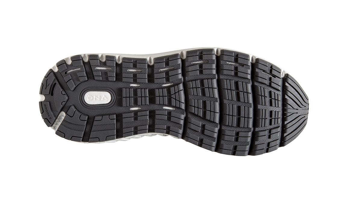 Women's Brooks Addiction 14 Running Shoe - Color: Blackened Pearl/Arcadia (Regular Width) - Size: 8.5, Black/Green, large, image 6