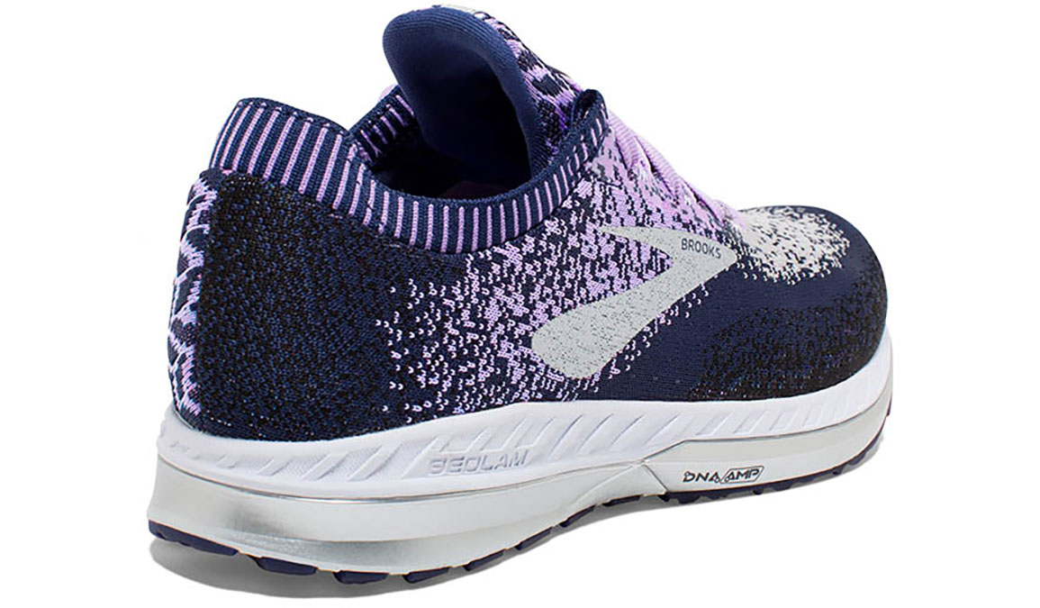 Women's Brooks Bedlam Running Shoe - Color: Navy/Lilac (Regular Width) - Size: 6, Navy/Purple, large, image 4