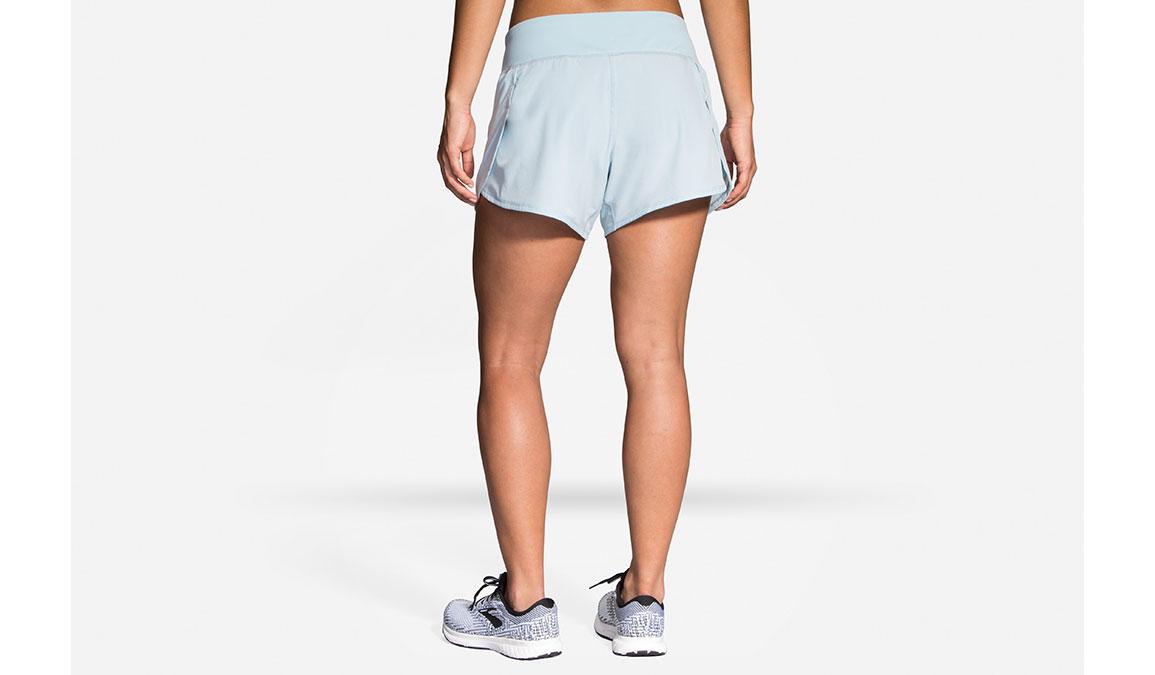"""Women's Brooks Chaser 5"""" Running Shorts - Color: Glacier/Navy Size: S, Glacier, large, image 2"""