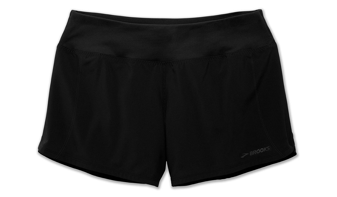 """Women's Brooks Chaser 5"""" Short - Color: Black - Size: S, Black, large, image 2"""
