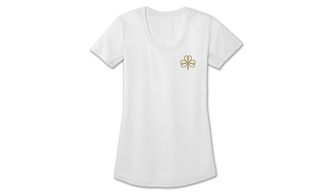 Women's Brooks Distance Graphic Tee, , large, image 1