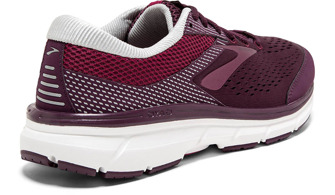 Women's Brooks Dyad 10 Running Shoe - Color: Purple/Pink (Regular Width) - Size: 10.5, Purple/Pink, large, image 4