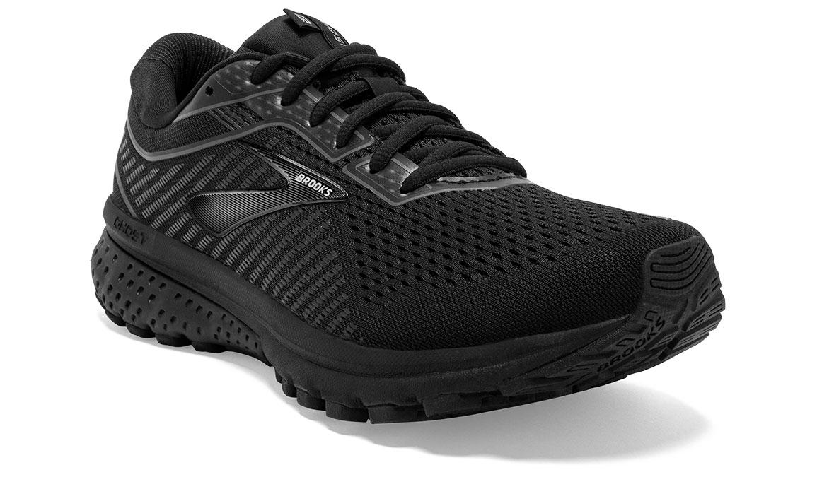 Women's Brooks Ghost 12 Running Shoe - Color: Black/Grey (Regular Width) - Size: 6.5, Black/Grey, large, image 4