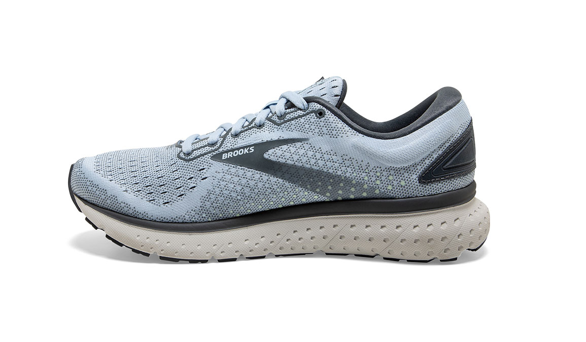 Women's Brooks Glycerin 18 Running Shoe - Color: Kentucky/Turbulence (Regular Width) - Size: 6, Blue/Grey, large, image 4