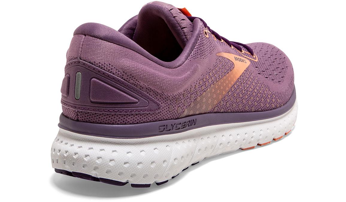 Women's Brooks Glycerin 18 Running Shoe - Color: Valerian/Jewel (Regular Width) - Size: 6, Purple, large, image 3
