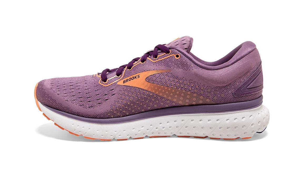 Women's Brooks Glycerin 18 Running Shoe - Color: Valerian/Jewel (Regular Width) - Size: 6, Purple, large, image 4