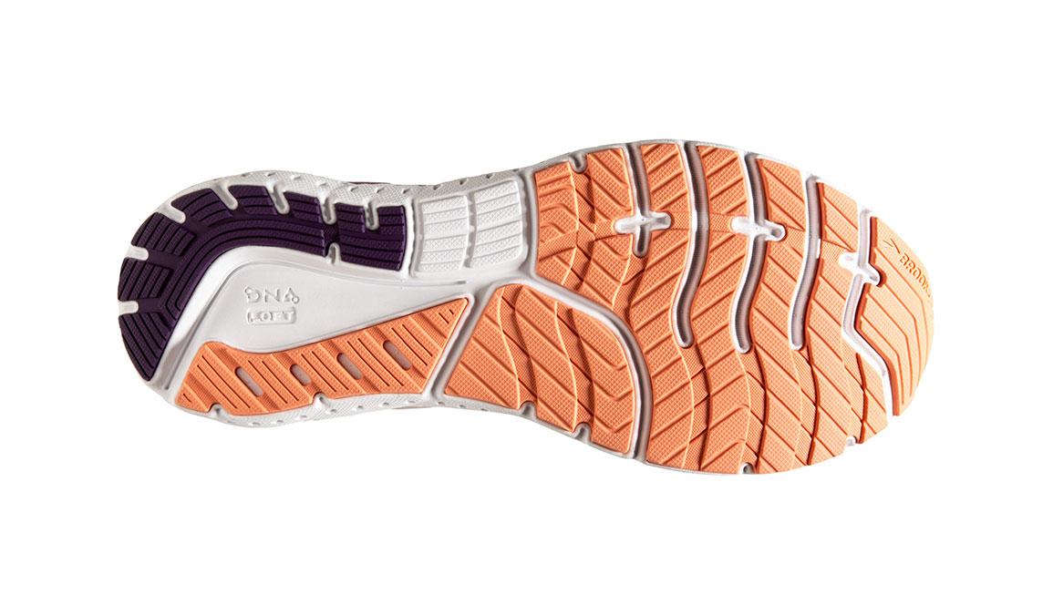 Women's Brooks Glycerin 18 Running Shoe - Color: Valerian/Jewel (Regular Width) - Size: 6, Purple, large, image 6