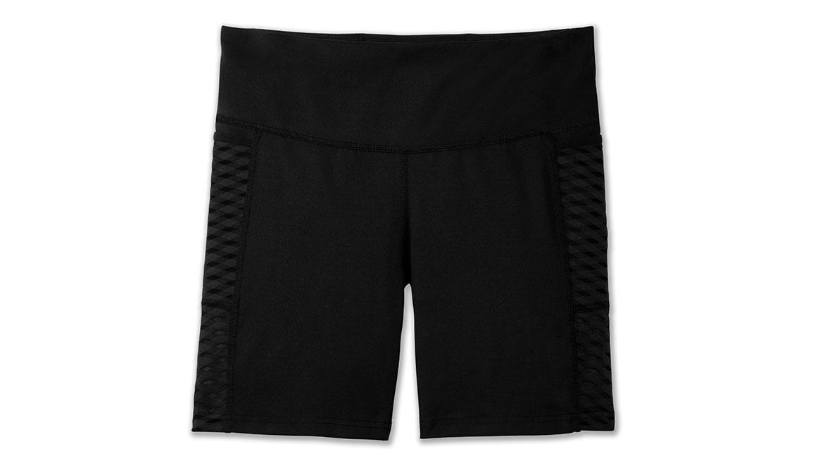 "Women's Brooks Greenlight 7"" Short Tights - Color: Black Size: L, Black, large, image 3"