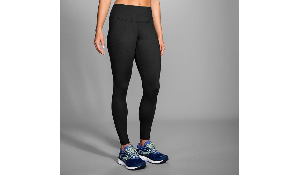 Women's Brooks Greenlight Essential Tight - Color: Black Size: M, Black, large, image 1