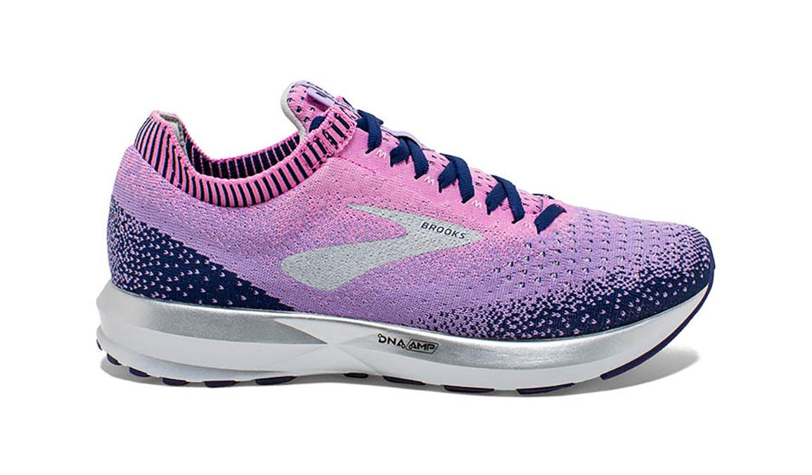 Women's Brooks Levitate 2 Running Shoe - Color: Navy/Lilac (Regular Width) - Size: 6, Navy/Purple, large, image 1