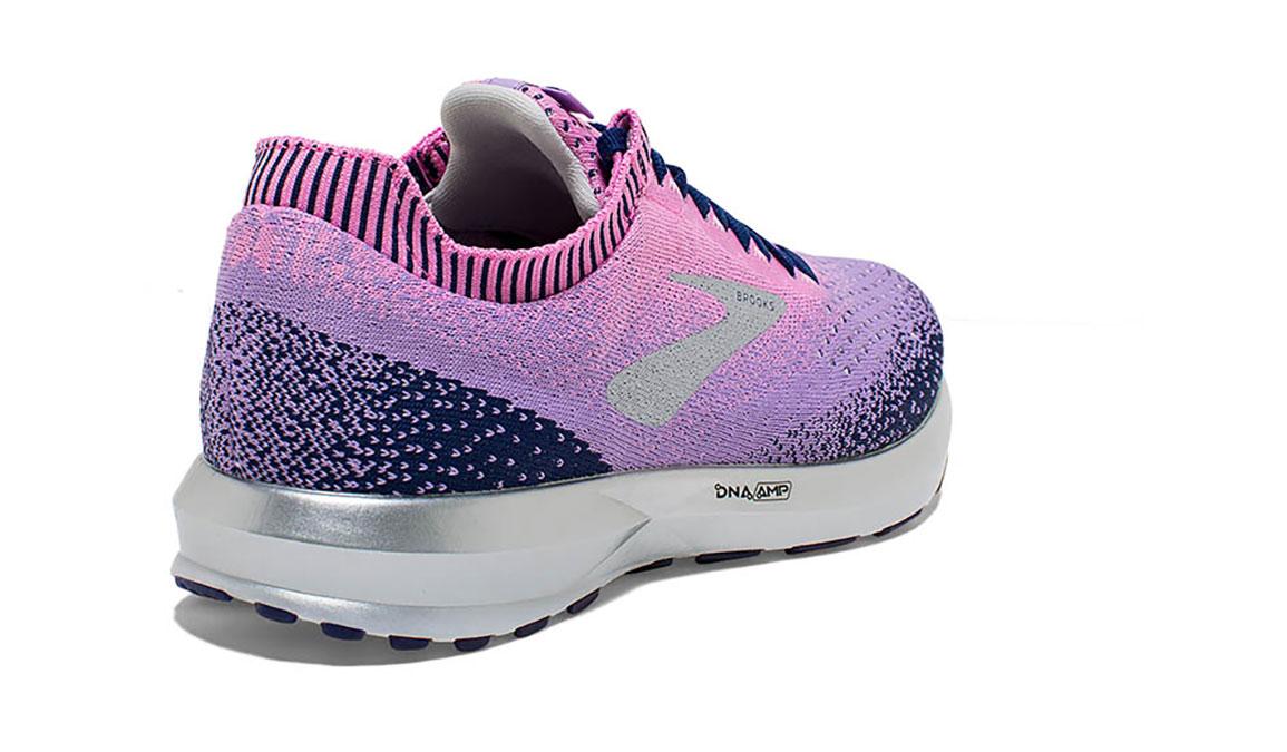 Women's Brooks Levitate 2 Running Shoe - Color: Navy/Lilac (Regular Width) - Size: 6, Navy/Purple, large, image 3