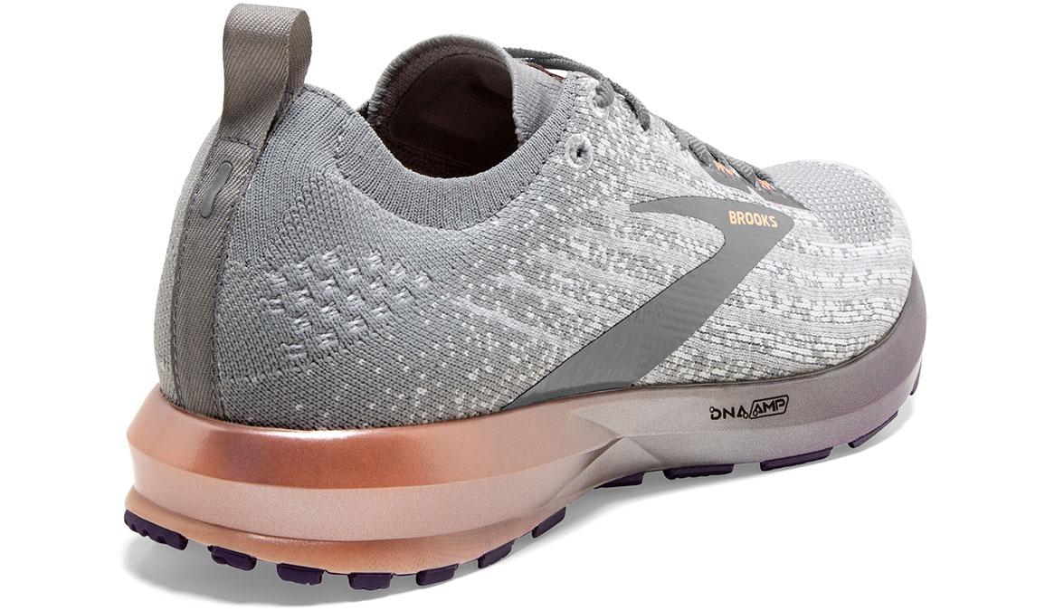 Women's Brooks Levitate 3 Running Shoe - Color: White/Purple/Cantaloupe (Regular Width) - Size: 6.5, White/Purple, large, image 3