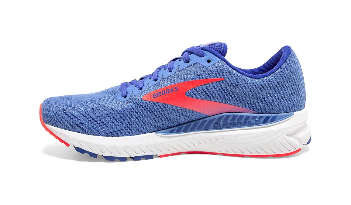 Women's Brooks Ravenna 11 Running Shoe - Color: Cornflower Blue/Coral (Regular Width) - Size: 8, Blue/Coral, large, image 4