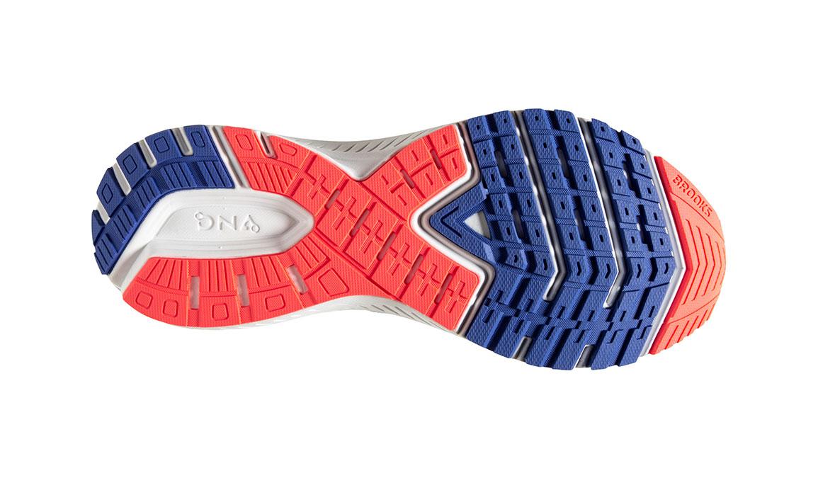 Women's Brooks Ravenna 11 Running Shoe - Color: Cornflower Blue/Coral (Regular Width) - Size: 8, Blue/Coral, large, image 6