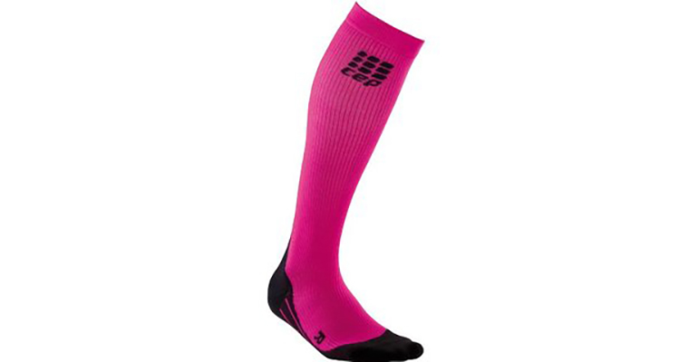 Women's CEP Compression Prgs Night +Run Sock 2.0 - Color: Pink - Size: IV, Pink, large, image 1