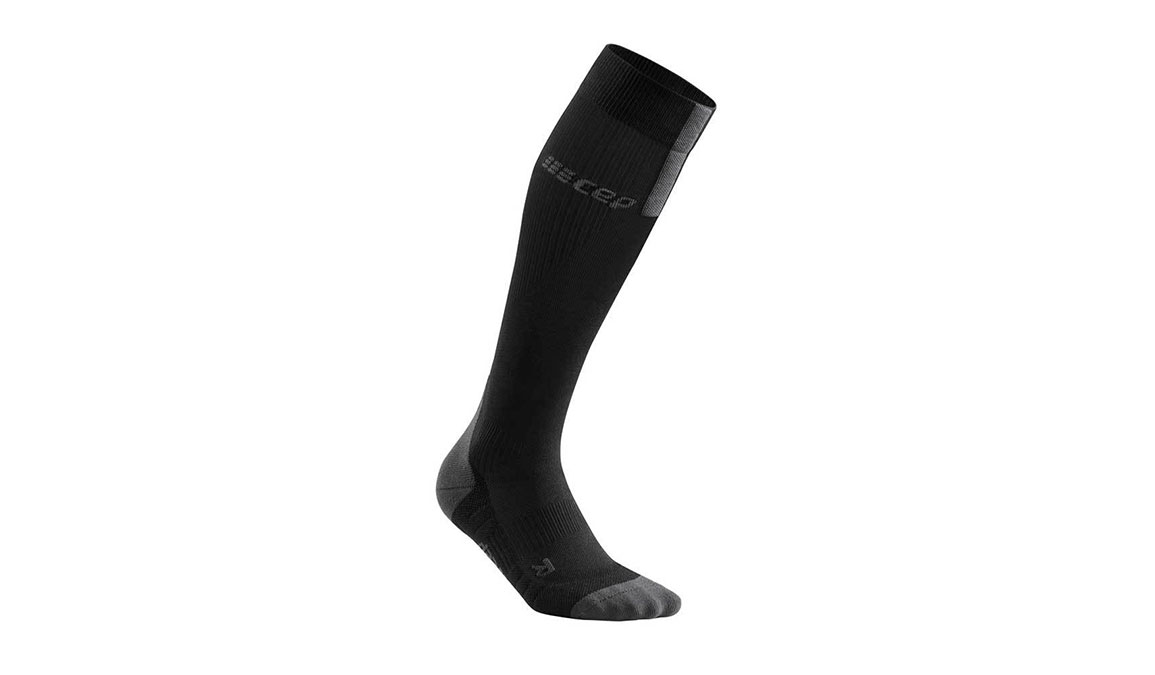 Women's CEP Compression Tall Socks 3.0 - Color: Black/Dark Grey Size: II, Black/Grey, large, image 1