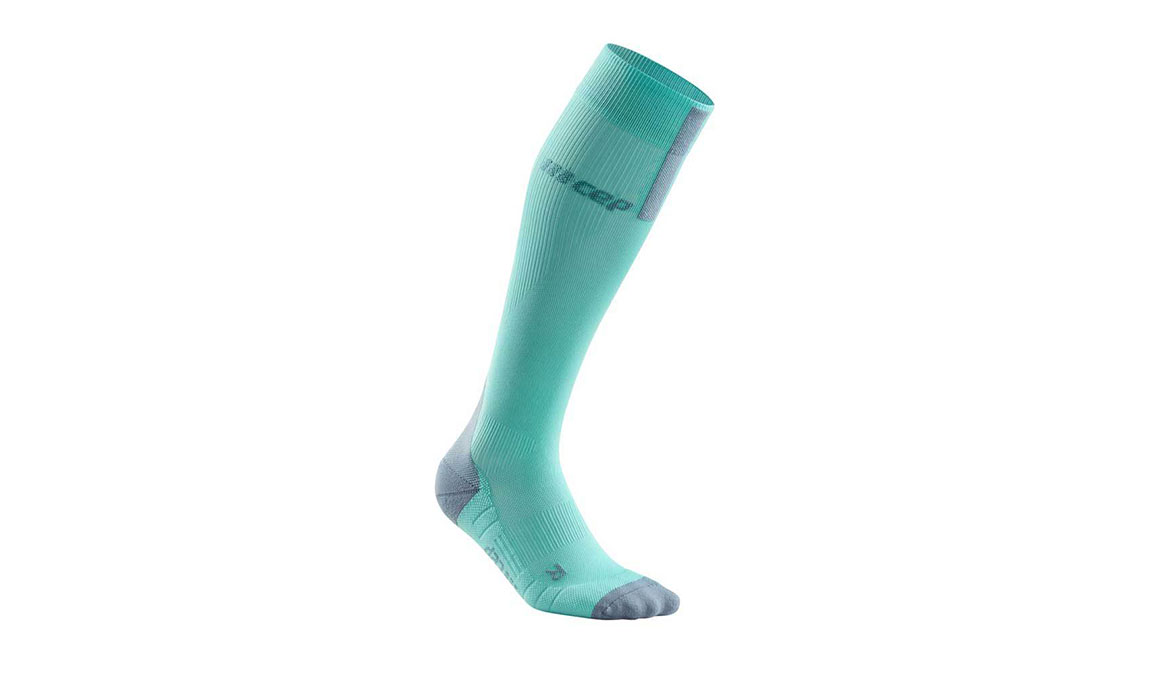 Women's Cep Compression Tall Socks 3.0 - Color: Ice/Grey Size: IV, Green/Grey, large, image 1