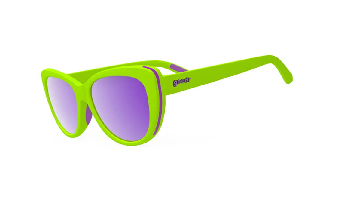 Women's Goodr Total Lime Piece - Color: Lime Green Size: OS, Lime Green, large, image 1