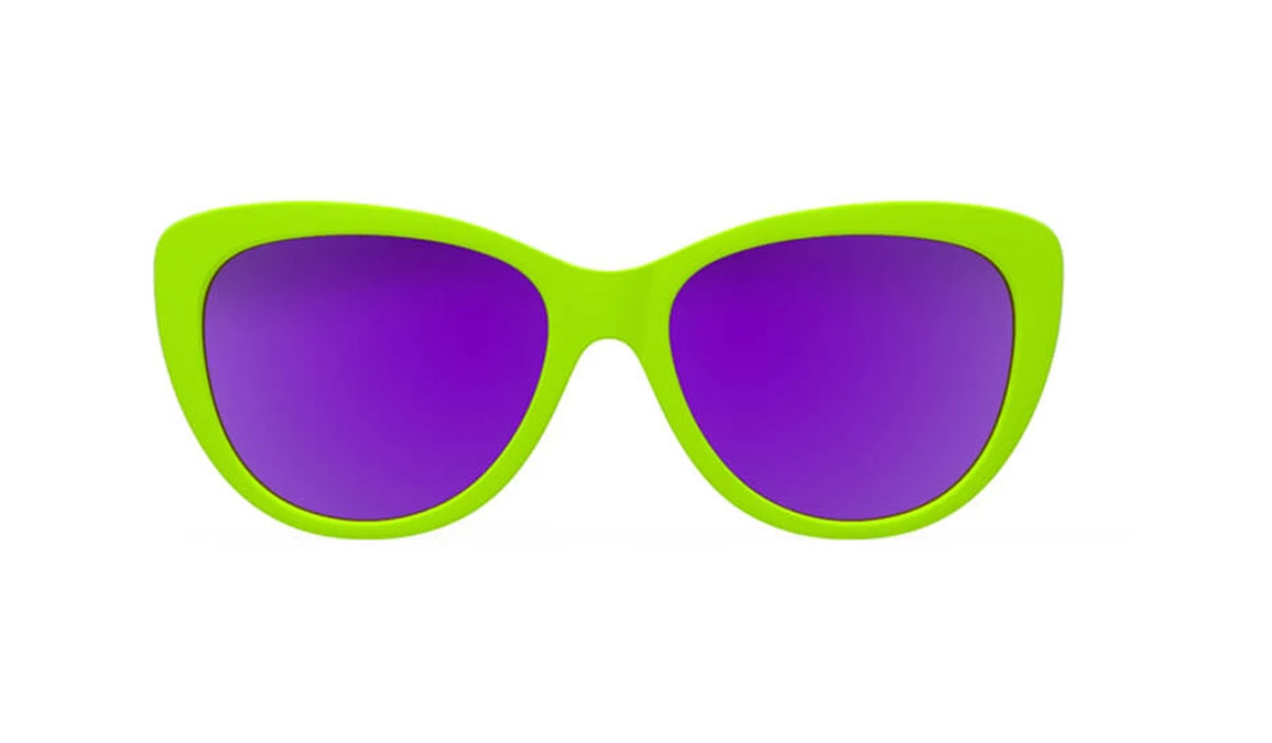 Women's Goodr Total Lime Piece  - Color: Lime Green Size: OS, Lime Green, large, image 2