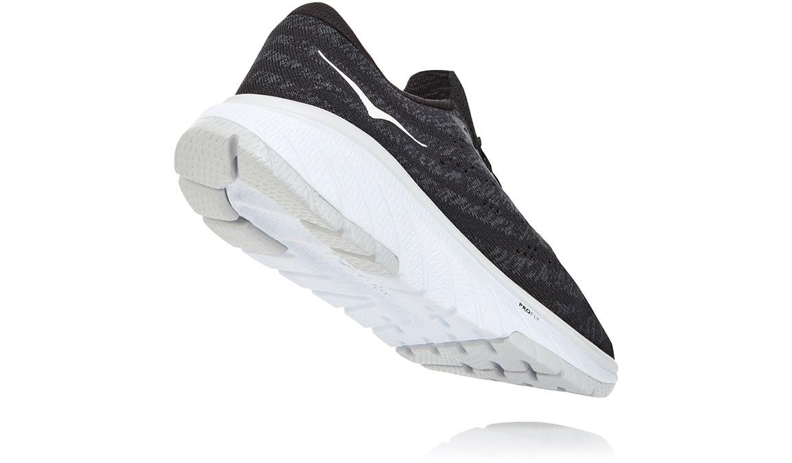 Women's Hoka One One Cavu 3 Running Shoe - Color: Black/White (Regular Width) - Size: 5, Black/White, large, image 4