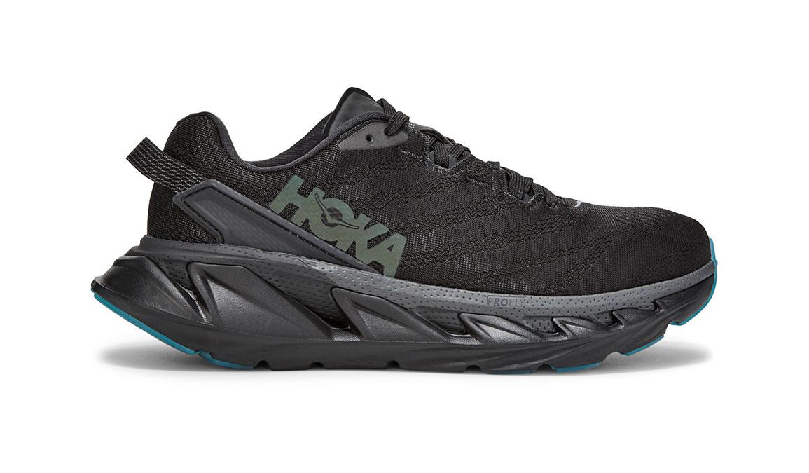 Women's Hoka One One Elevon 2 Running Shoe - Color: Black/Dark Shadow (Regular Width) - Size: 6.5, Black/Dark Shadow, large, image 1